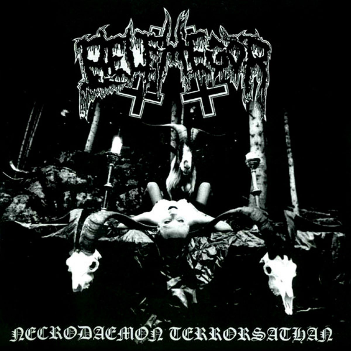belphegor - Necrodaemon Terrorsathan - album cover