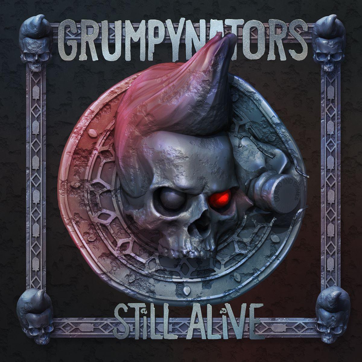 grumpynators - still alive - album cover