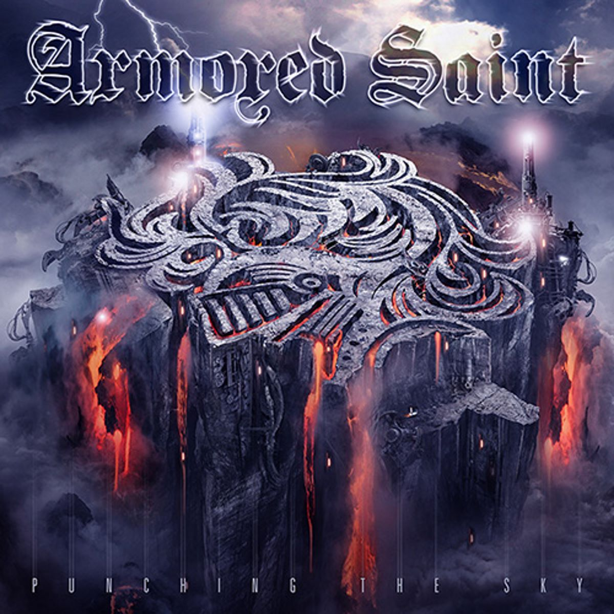 Armored Saint - Punching The Sky - album cover