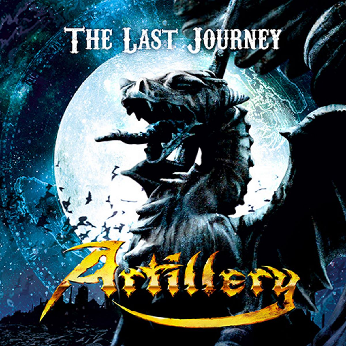 Artillery - The Last Journey - single cover