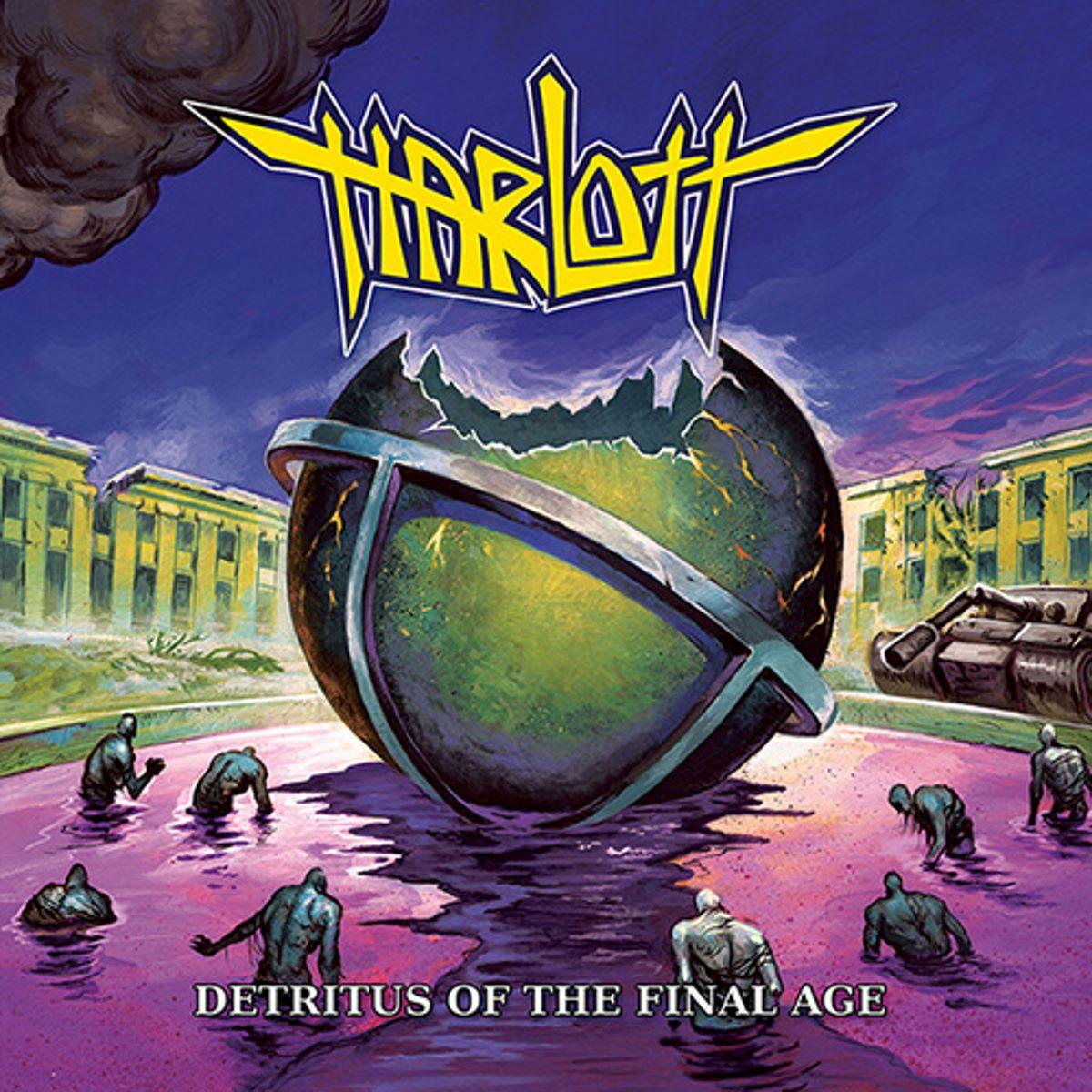 Harlott - Detritus of the Final Age - album cover