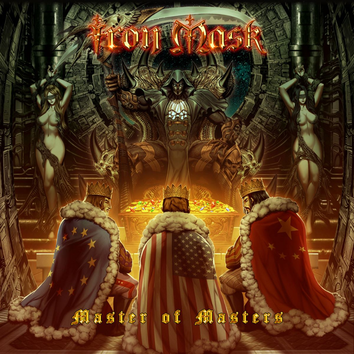IRON MASK - master of masters - album cover