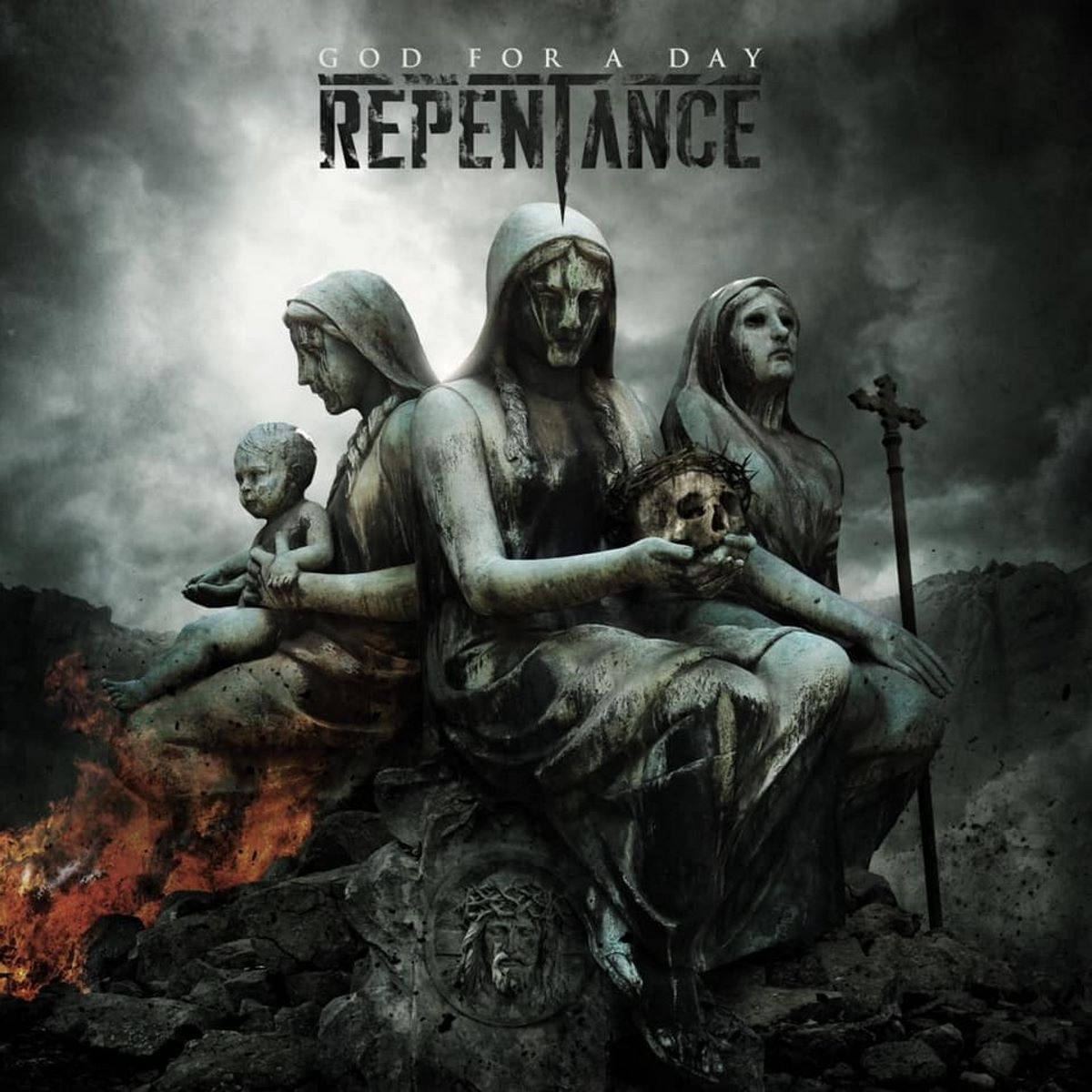 REPENTANCE - God For A Day - album cover
