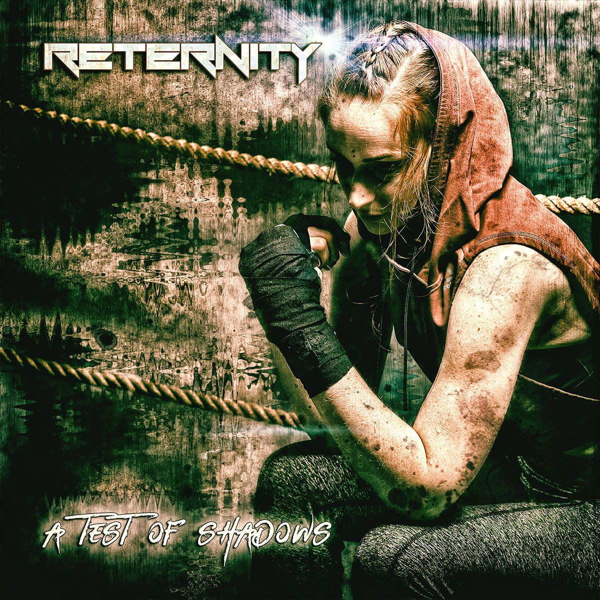 RETERNITY - A Test Of Shadows - album cover