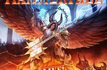 hammerfall - Live Against The World - album cover