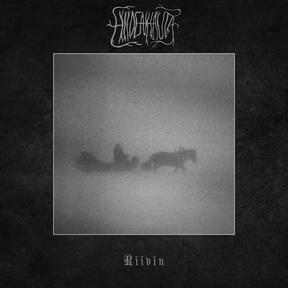 hiidenhauta - riivin - album cover