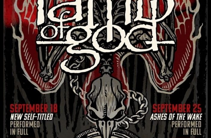 lamb of god- streaming events - flyer