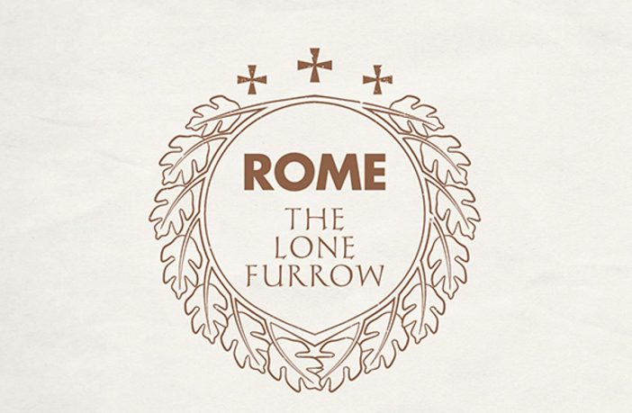 rome - the lone furrow - album cover