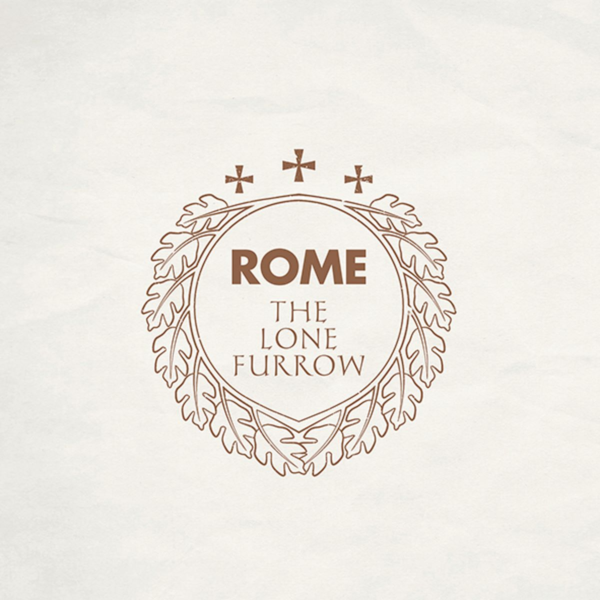 rome - the lone furrow - album cover