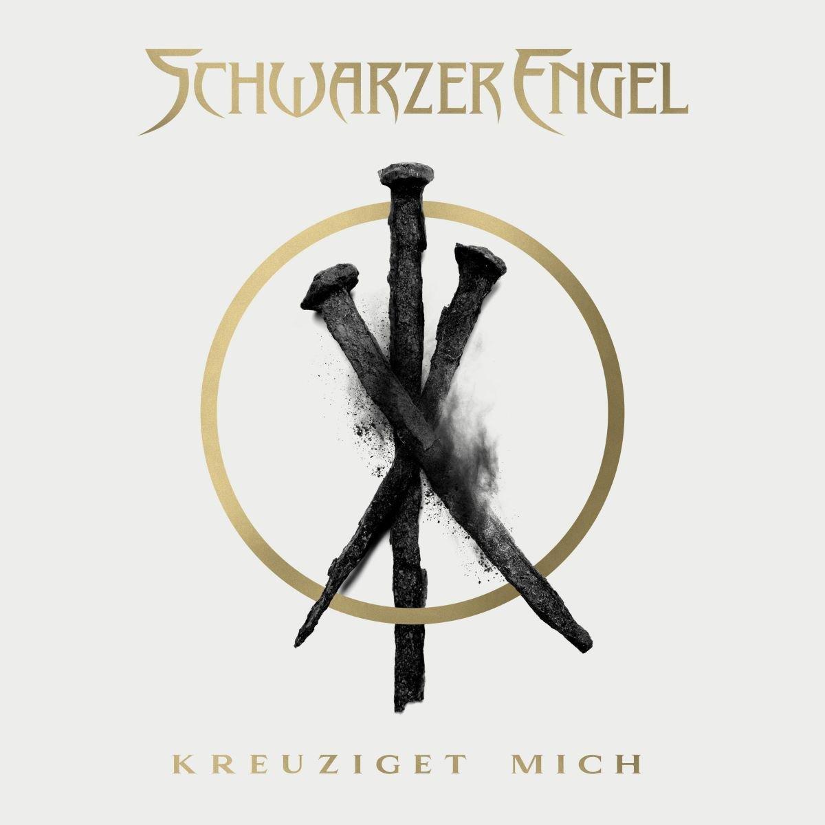 schwarzer engel - kreuziget mich - album cover