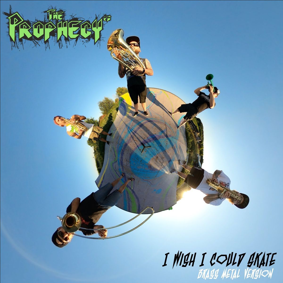 the prophecy 23 - i wish i could skate - album cover