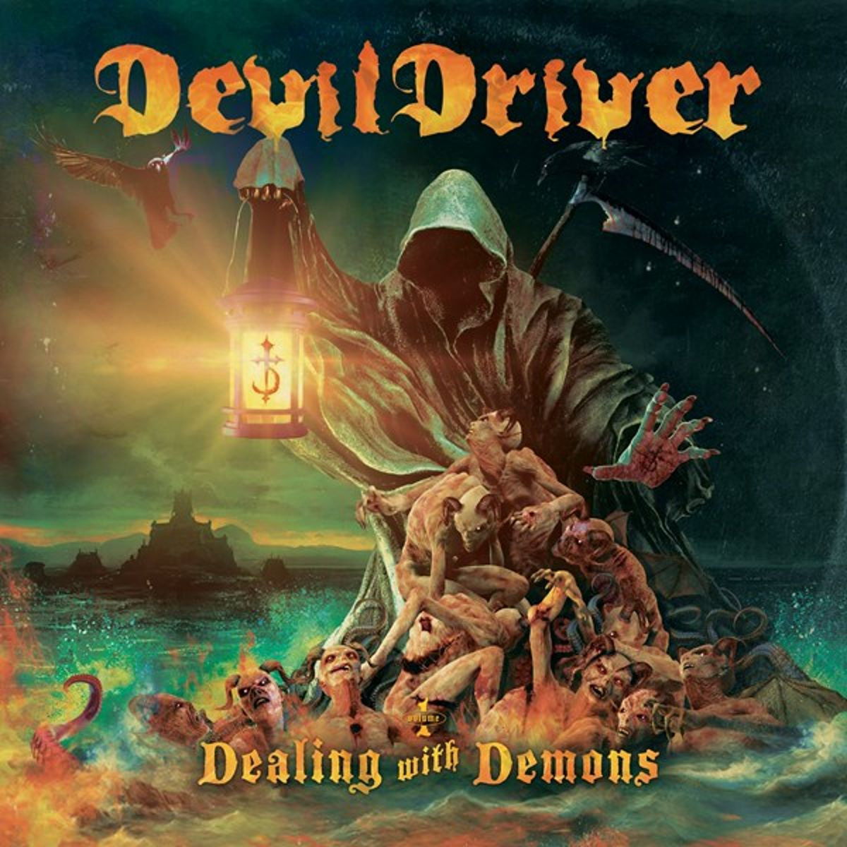 DEVILDRIVER - Dealing With Demons I - album cover
