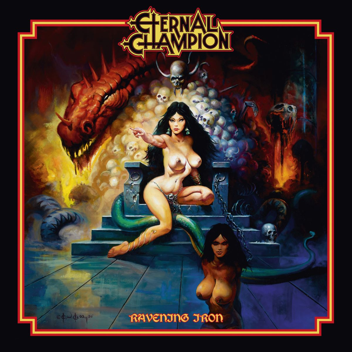 Eternal Champion – Ravening Iron - album cover