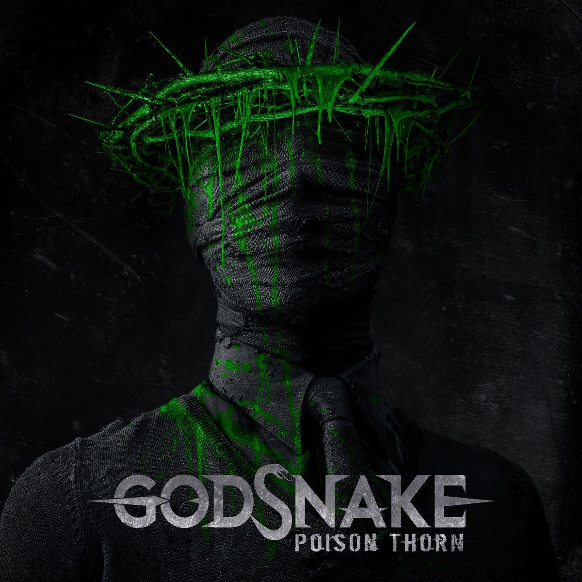 Godsnake - Poison Thorn - album cover