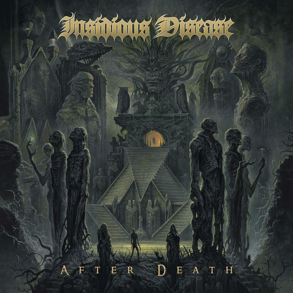 Insidious Disease - After Death - album cover
