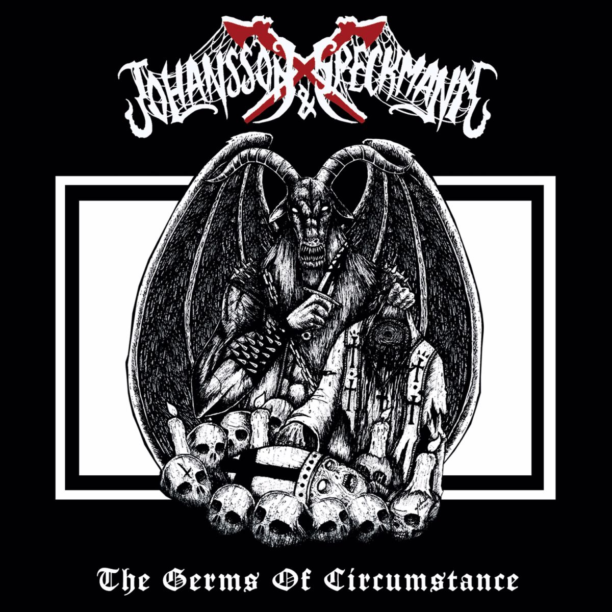 Johansson and Speckmann - The Germs Of Circumstance - album cover