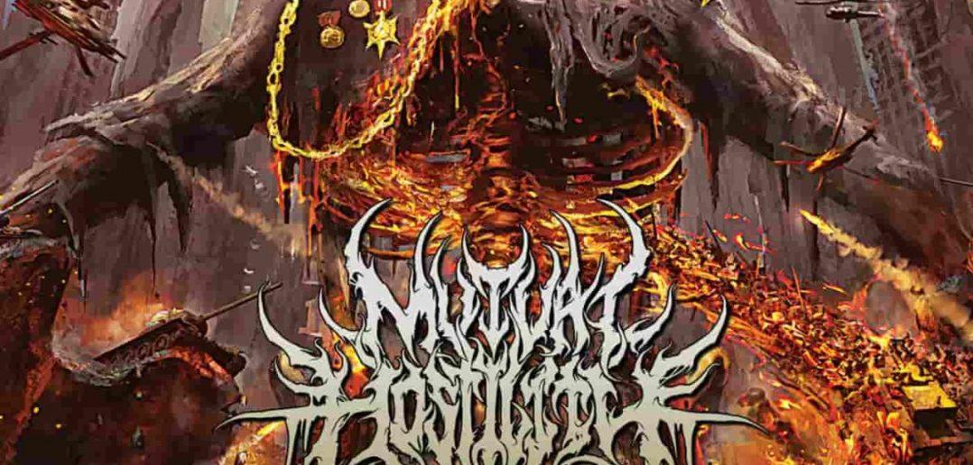MUTUAL HOSTILITY - sacred Propaganda - album cover