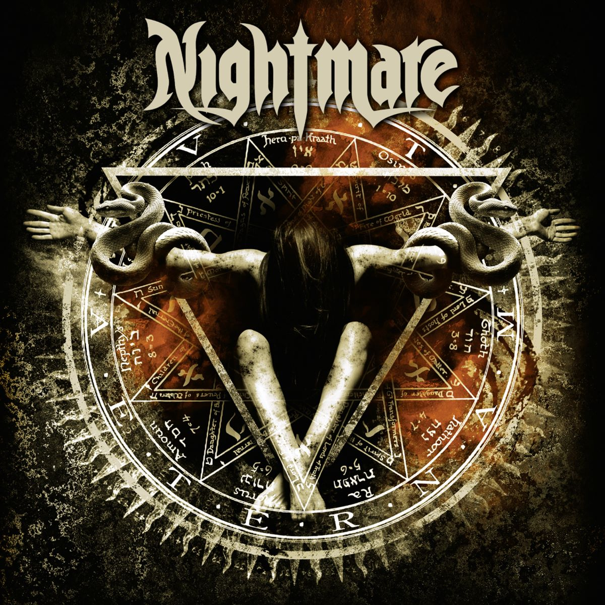 NIGHTMARE - AETERNAM - album cover