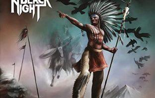 Raven Black Night - run with the raven - album cover