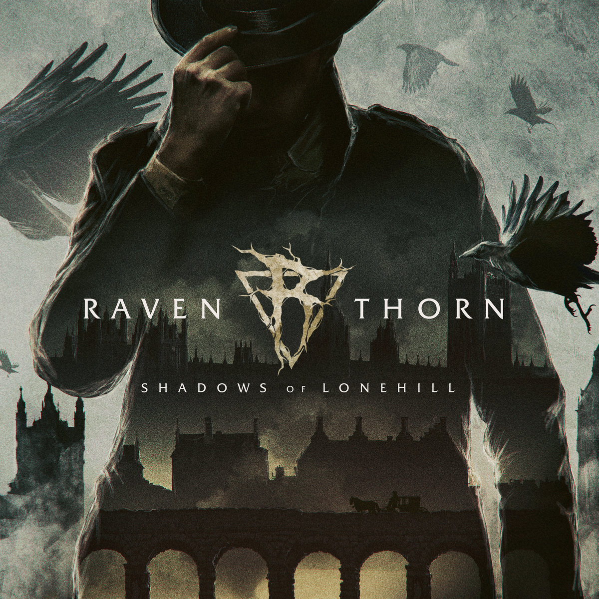 Raventhorn - Shadows of Lonehill - album cove