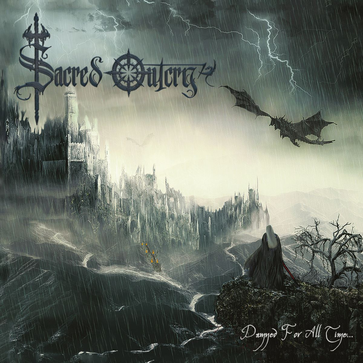 Sacred Outcry – Damned For All Time - album cover