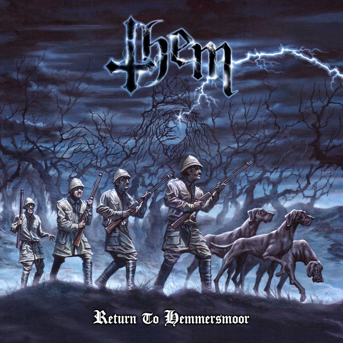 THEM - Return To Hemmersmoor - album cover