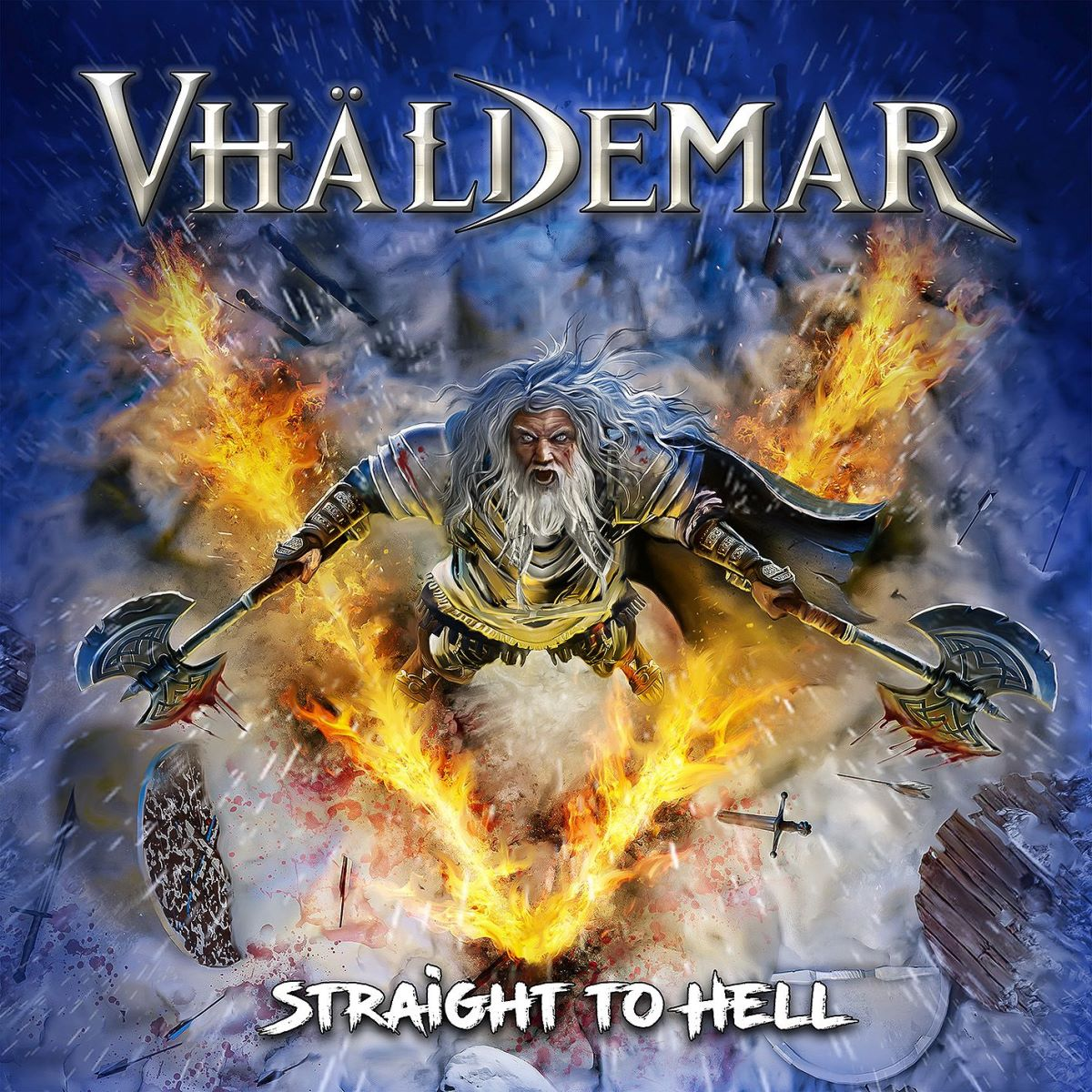 Vhaldemar - Straight to Hell - album cover