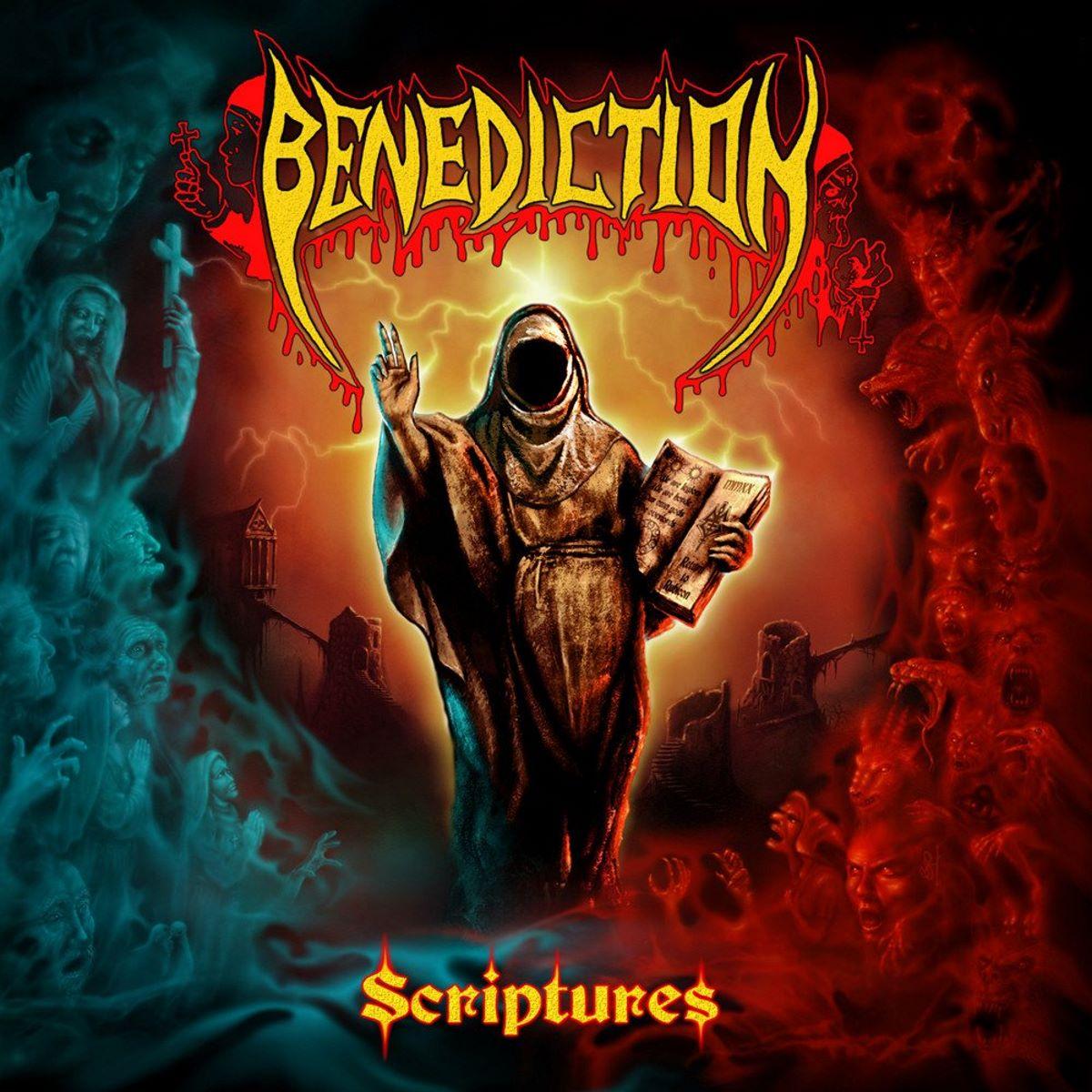 benediction - Scriptures - album cover