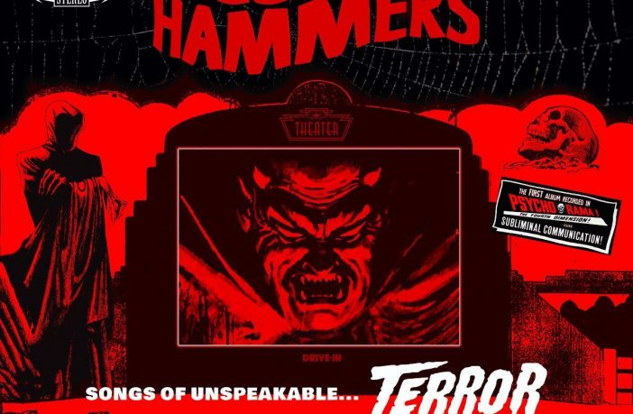 bloody hammers - songs of unspeakable terror - album cover
