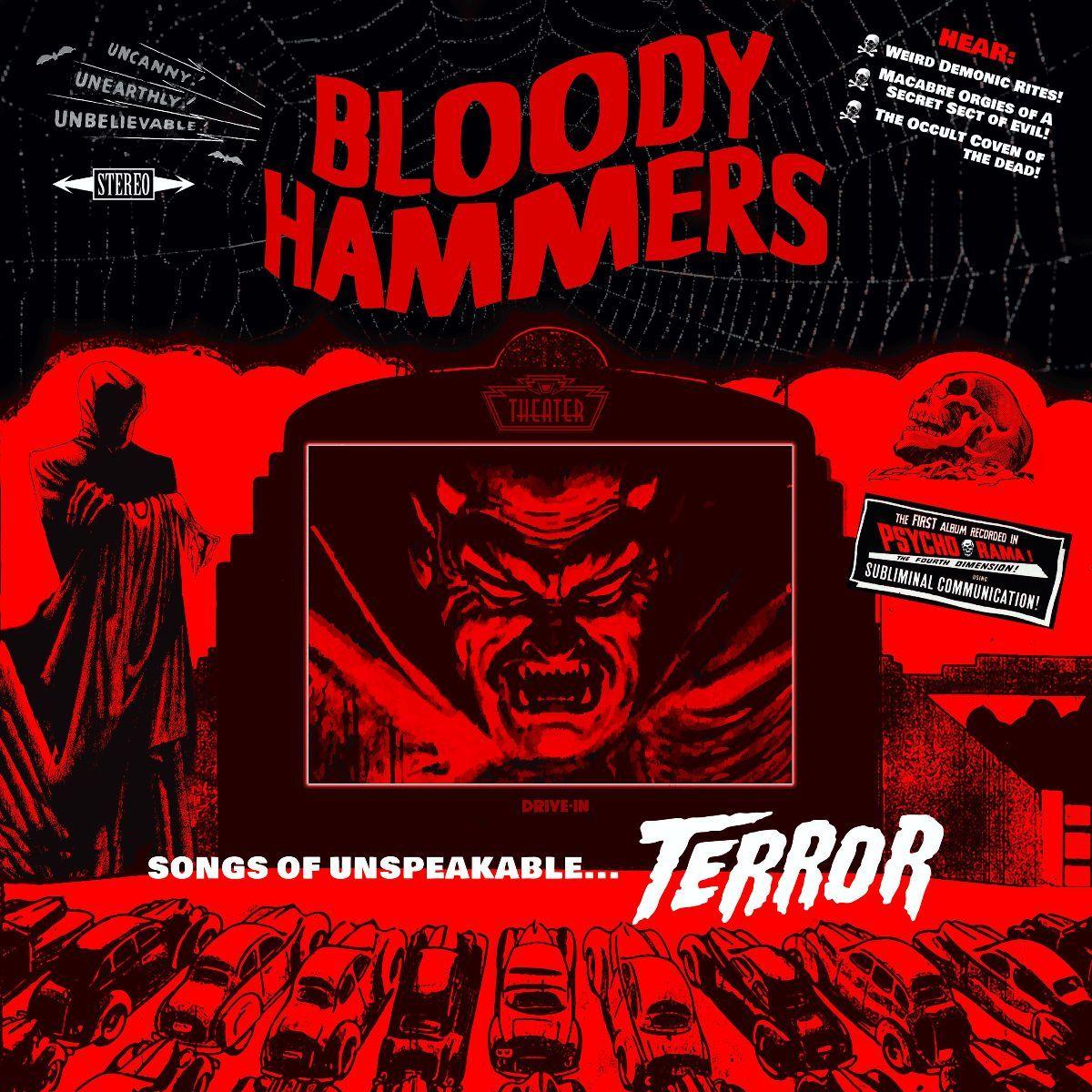 bloody hammers - songs of unspeakable terror - album cover