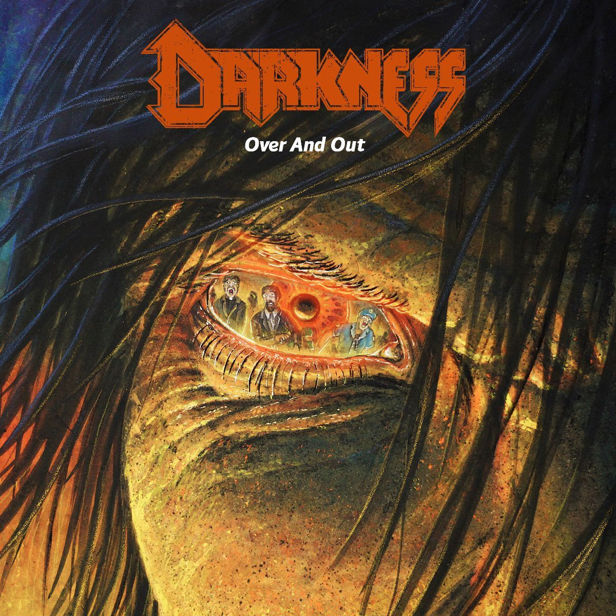 darkness - over and out - album cover