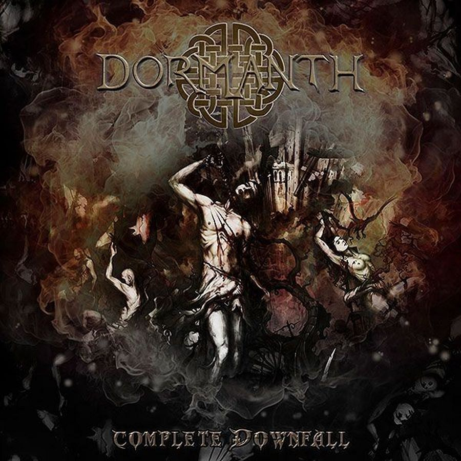 dormanth - complete Downfall - album cover