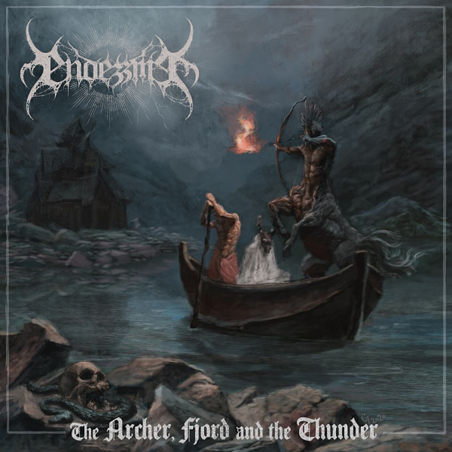 endezzma - the archer fjord and the thunder - album cover
