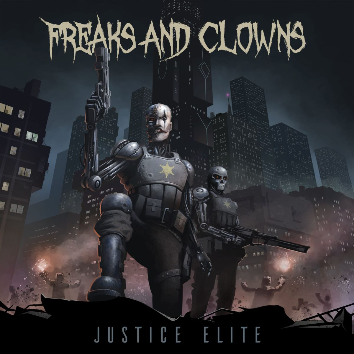 freaks and clowns - Justice Elite - album cover