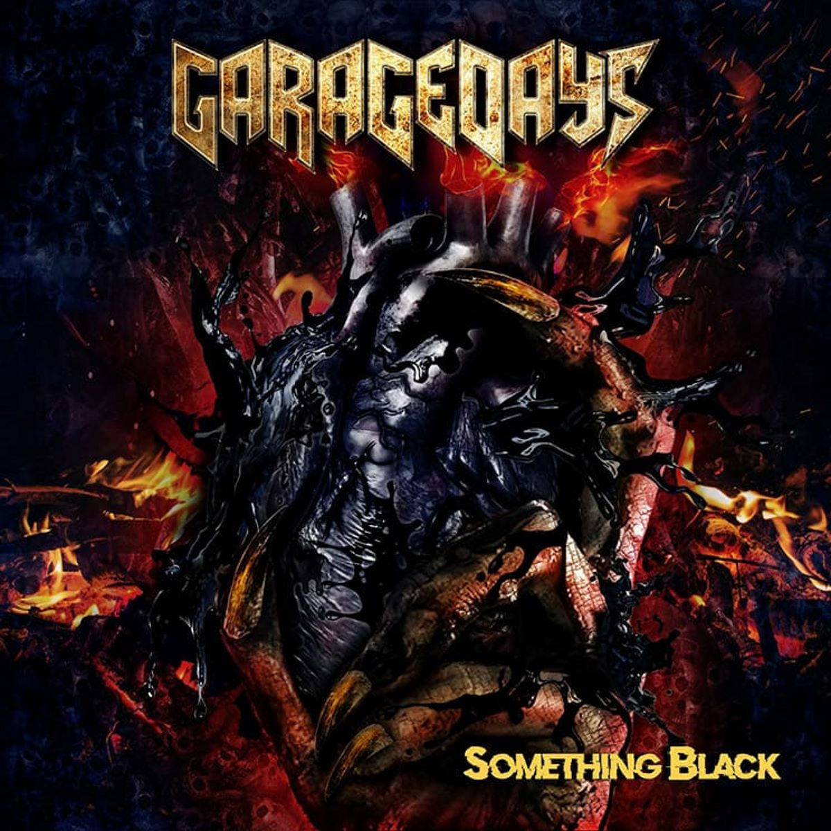 garagedays - something black - album cover