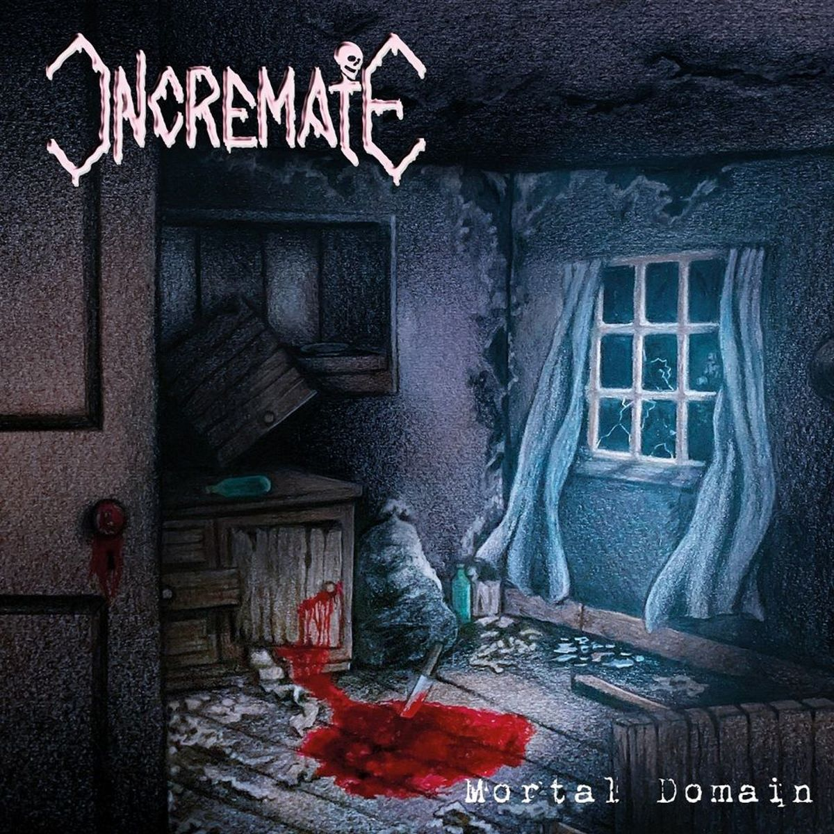 incremate - mortal domain - album cover