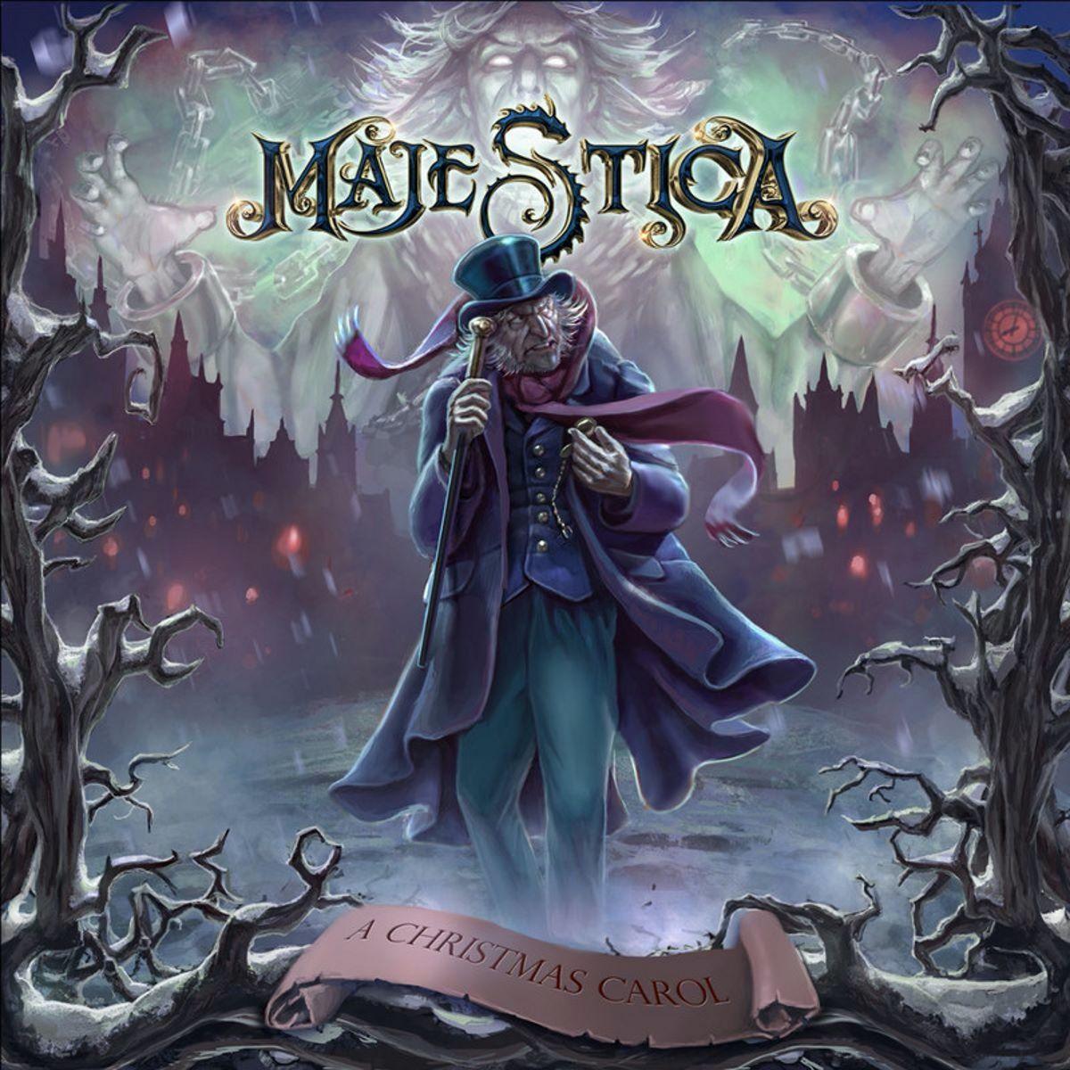 majestica - a christmas carol - album cover