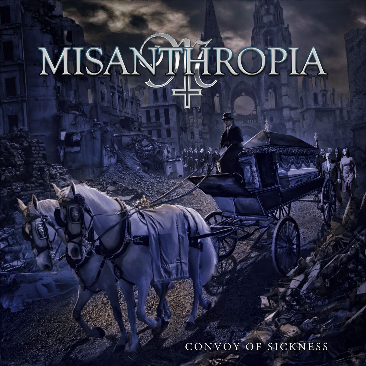 misanthropia - convoy of sickness - album cover