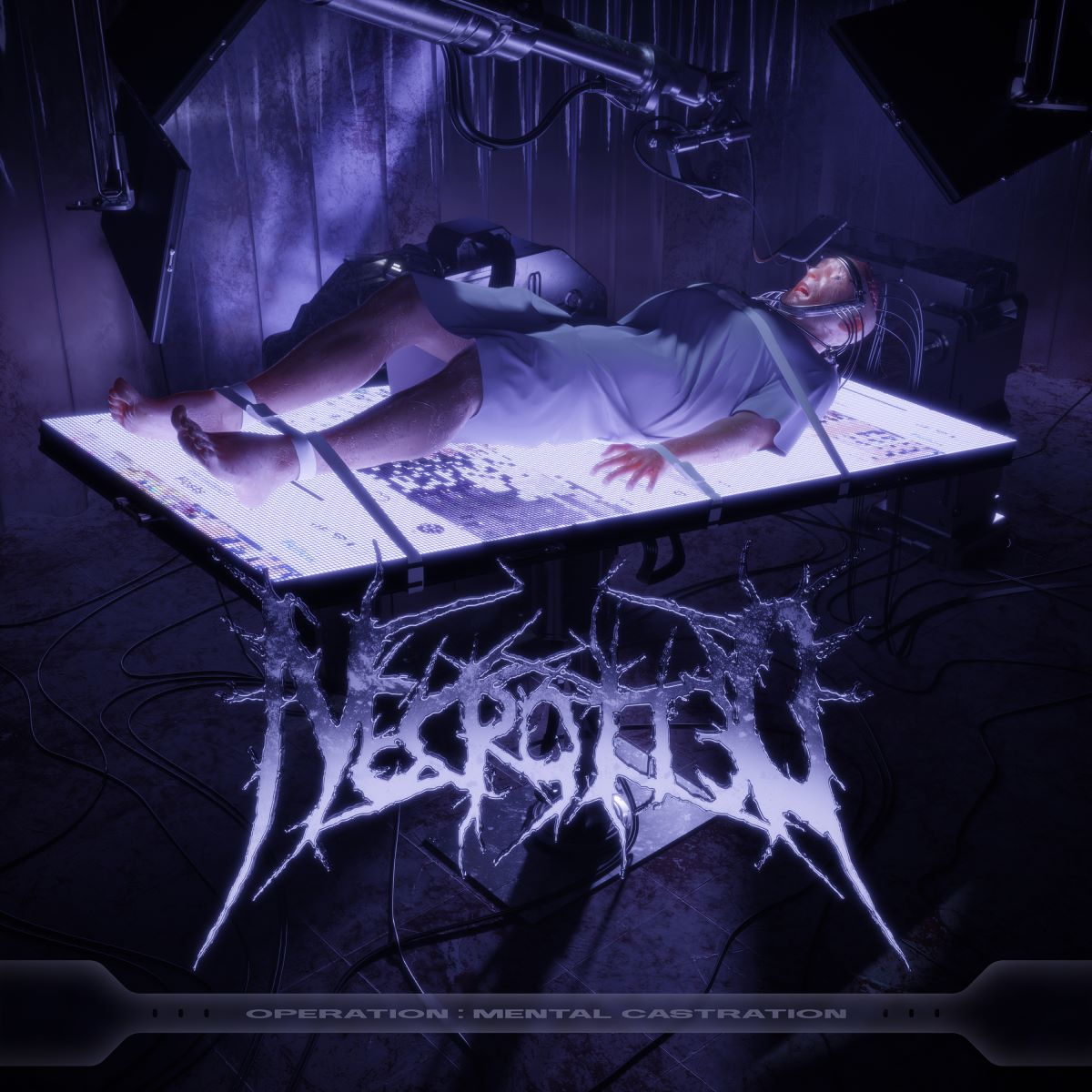 nectrotted - Operation Mental Castration - album cover