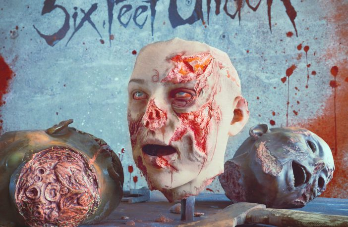 six feet under - nightmares of the decomposed - album cover