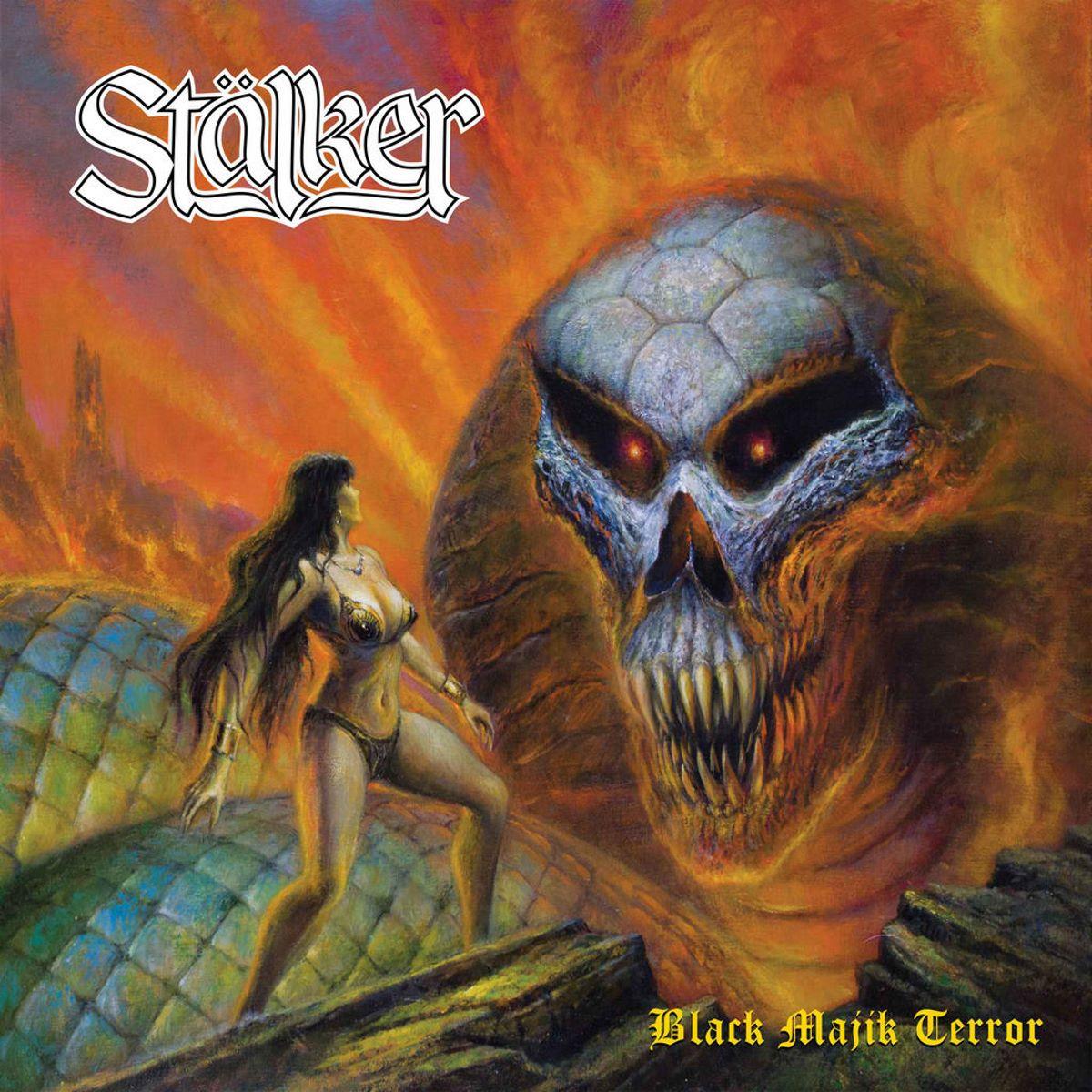 stalker - black majik terror - album cover