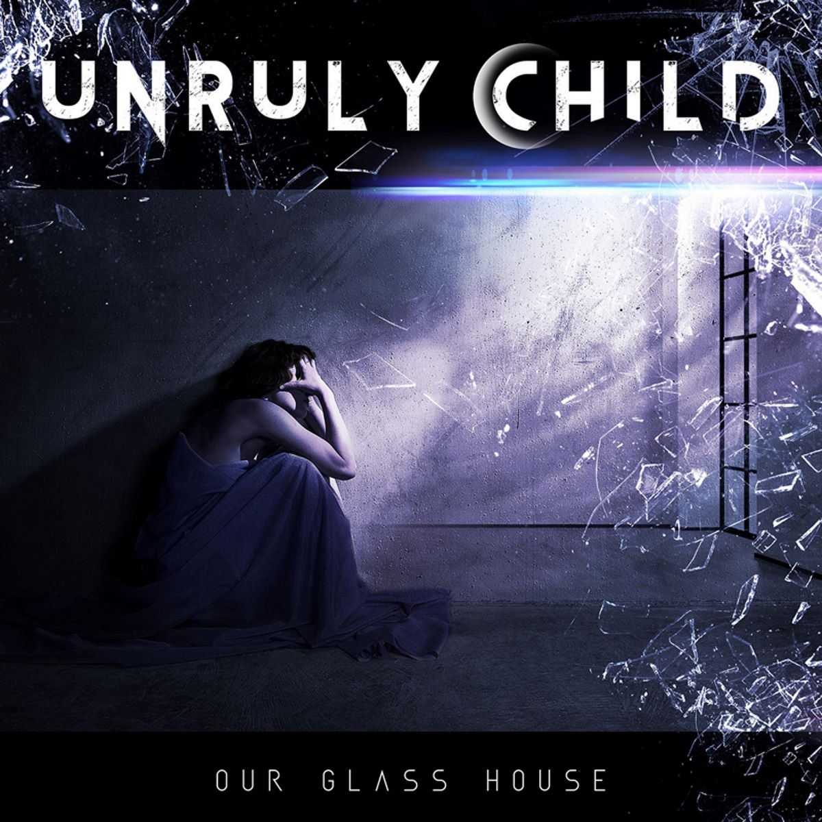 unruly child - our glass house - album cover