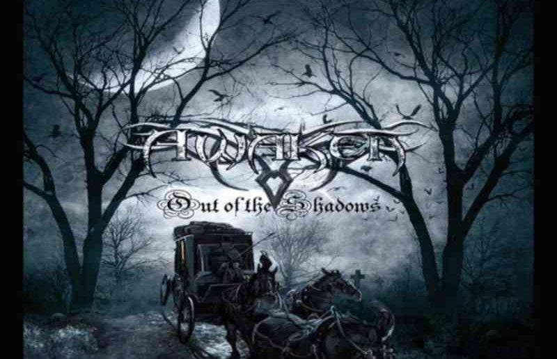 AWAKEN - Out Of The Shadows - album cover