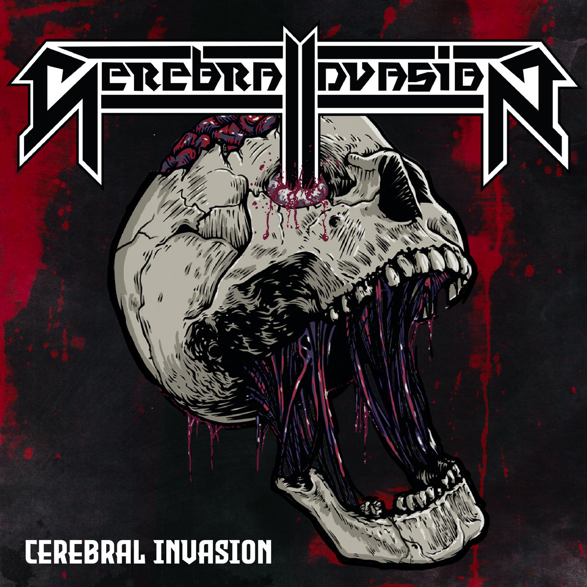 Cerebral Invasion - Cerebral Invasion - album cover