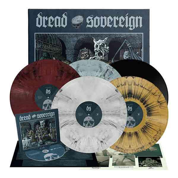 Dread Sovereign - Alchemical Warfare - album bundle