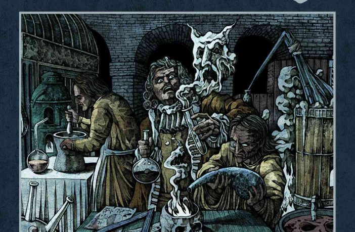 Dread- Sovereign - Alchemical Warfare - album cover