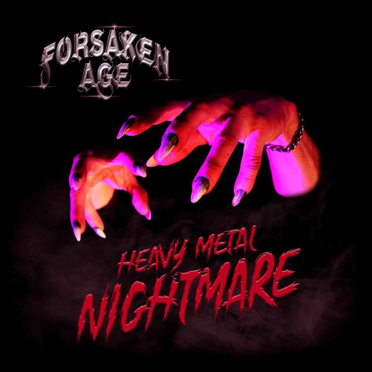 FORSAKEN AGE - Heavy-Metal Nightmare - album cover
