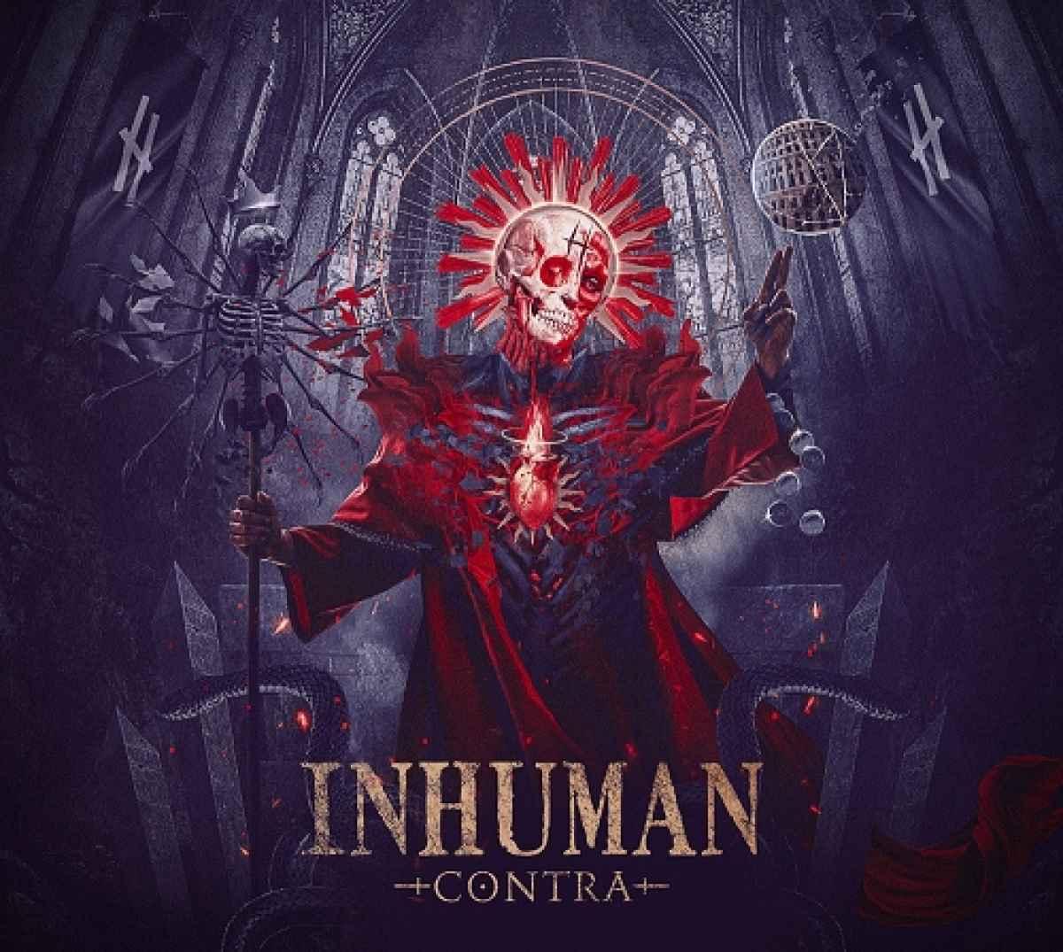 INHUMAN - Contra - album cover
