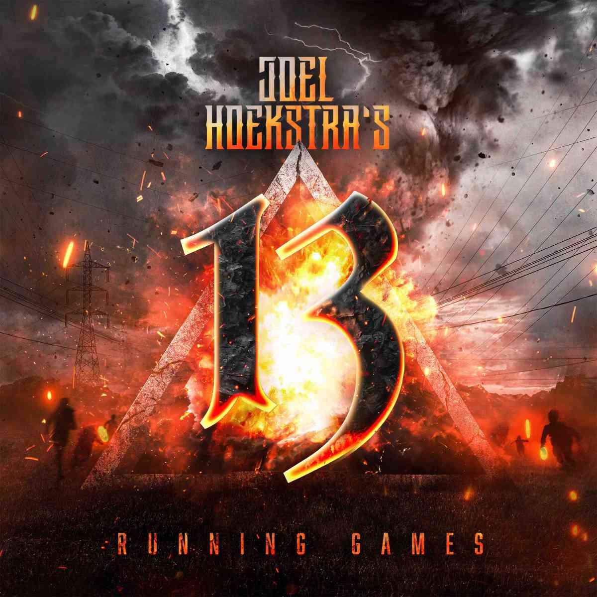 JOEL HOEKSTRAS 13 - running games - album cover