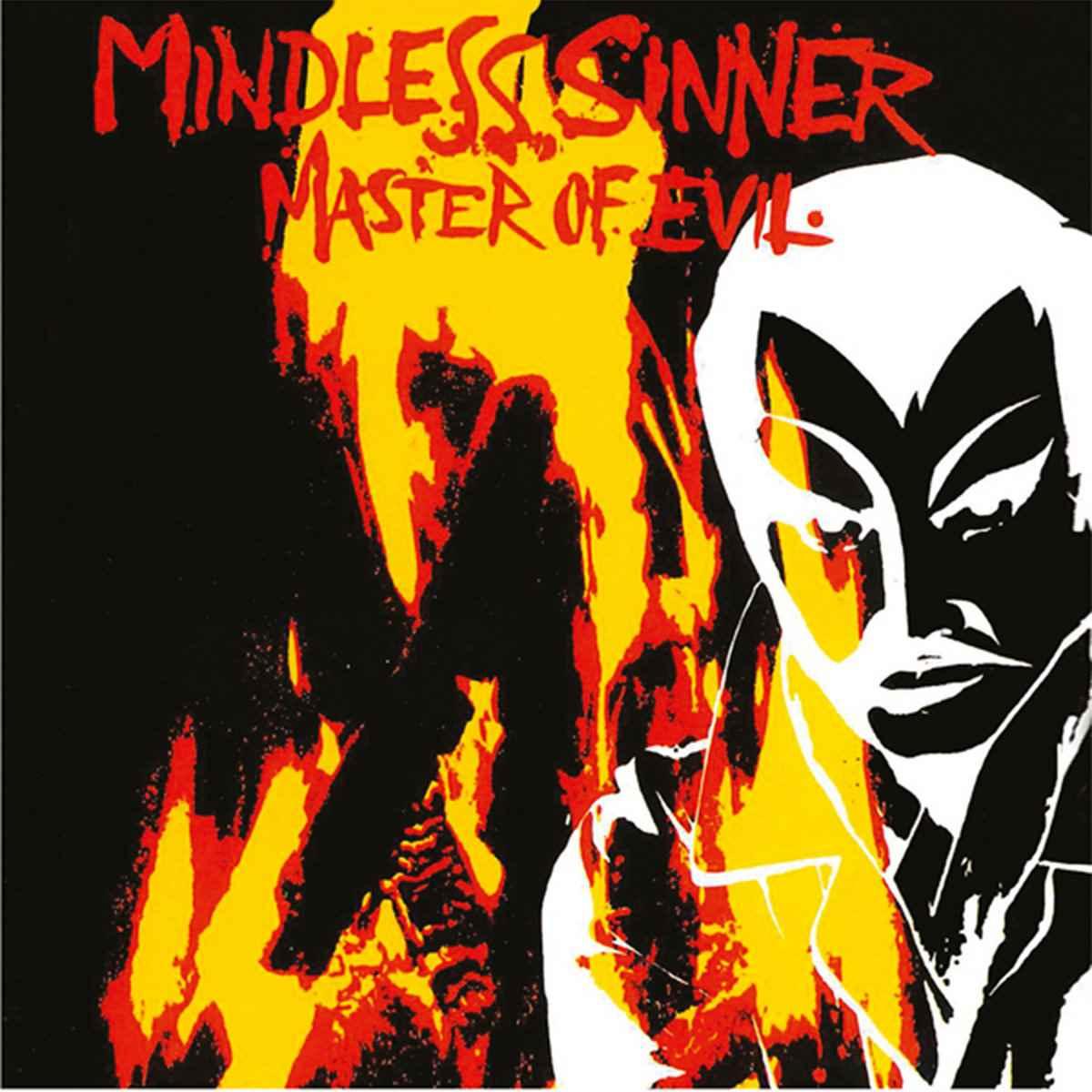 Mindless Sinner - Master Of Evil - album cover